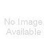 Red white black stripe heart pendant